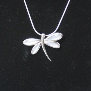Jewelry - Sterling Silver Dragonfly Pendant Necklace